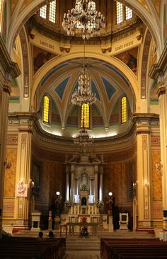 La majestuosa Catedral de #Tampico, ciudad del noreste de #Mexico, dedicada a la Inmaculada Concepción.
