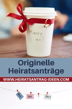 Du möchtest deiner Freundin einen ganz besonderen Heiratsantrag machen? Travel Mug, Mugs, Tableware, Dinnerware, Tumblers, Tablewares, Mug, Dishes