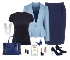 """""""jus"""" by carolannstyle on Polyvore featuring Pierre Cardin, WithChic, J Brand, Chanel, Couture Colour, Longchamp, New Look, Armenta and BaubleBar"""