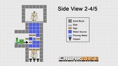 Slime farm minecraft ideas pinterest slime minecraft ideas this three part slime farming series shows you how to build fully automatic slime farms in slime chunks and swamp biomes ccuart Image collections