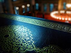 The Quran in a mosque in Istanbul, Turkey.