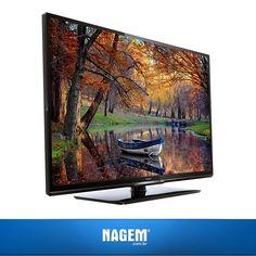 Nada melhor que assistir seus programas favoritos em alta definição! Quem está precisando de uma TV nova? Confira nossa #OfertaNagem de hoje.