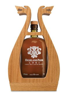 Highland Park Single Malt Scotch Whisky launches Loki, the second release of the acclaimed Valhalla Collection. Loki, one of the Loki, Thor, Highland Park Whisky, Whiskey Sour, Irish Whiskey, Alcohol Bottles, Liquor Bottles, Scotch Whisky, Whisky Single Malt