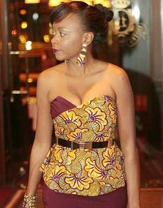 Creative Ankara Top Design http://www.dezangozone.com/2015/08/creative-ankara-top-design.html ~African fashion, Ankara, kitenge, African women dresses, African prints, Braids, Nigerian wedding, Ghanaian fashion, African wedding ~DKK