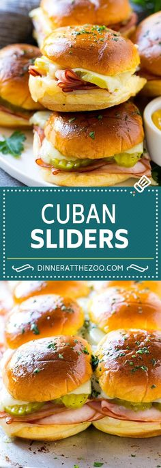 Cuban Sliders Recipe #ad