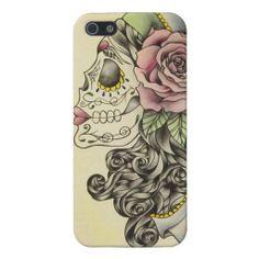 Gypsy Sugar Skull iPhone 5 Covers