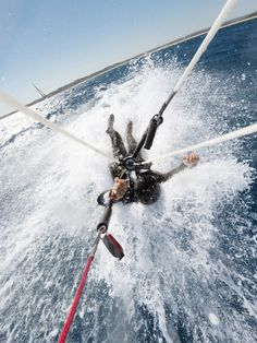 Practice makes perfect: Alex Thomson in training for the #skywalk