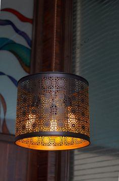 Industrial Vintage Edison 3 Light Drum Shade by bluesky3786