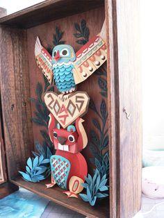 Native American Totem pole
