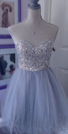 Short Homecoming Dress,Sweetheart H