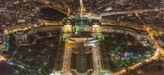 https://flic.kr/p/SXN4Cw | Palais de Chaillot in Paris | Palais de Chaillot in Paris captured from Eiffel Tower at night.  | | | arpadlukacs.com   | | |  twitter   | | | blog
