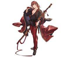 View an image titled 'Event Percival Art' in our Granblue Fantasy art gallery featuring official character designs, concept art, and promo pictures. Game Character Design, Character Concept, Character Art, Concept Art, Hot Anime Boy, Anime Guys, Granblue Fantasy Characters, Dnd Characters, Guy Pictures