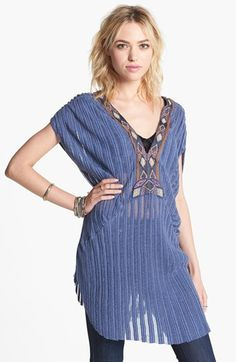 Free People 'Paradise' Dolman Sleeve Tunic available at #Nordstrom