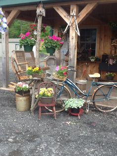 Rt. 522 country crafts in beaver springs are a variety of flowers and crafts and clothing. Stop over today!