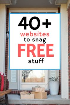 websites to get free stuff. No strings attached. All honest work. Check it out! Looking for free giveaways? I researched of websites and chose what I thought were the 40 best ways to find scam-free goodies. Free Coupons By Mail, Free Samples By Mail, Stuff For Free, Free Stuff By Mail, Earn Money From Home, How To Get Money, Application Utile, Freebies By Mail, Baby Freebies