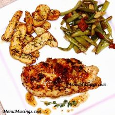 Menu Musings of a Modern American Mom: Maple-Mustard Glazed Chicken