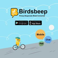 BirdsBeep Multiplatform & Multilingual chat application with an amazing sticker collection