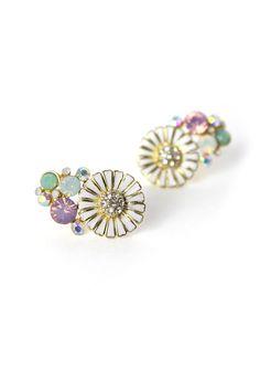 Daisy Crystal Earrings