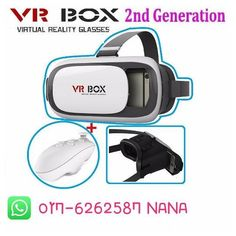 An awesome Virtual Reality pic! Vr box RM55 Control use battery RM25 Control use chager RM40 . Postages Caj West MY  RM7 East MY  RM11 . Specifications . Material: ABS   PC Lens material: Spherical resin Size: approximately 140 x 195 x 110 (W x L x H) Vid