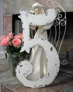 NUMBER 5 Shabby Cottage 2 ft FIVE Chippy French Chic Vintage Style 24 in tall by thebackporchshoppe on Etsy https://www.etsy.com/listing/46537474/number-5-shabby-cottage-2-ft-five-chippy