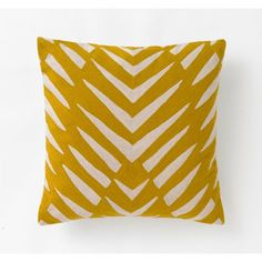 DwellStudio - Osa Mustard Pillow | DwellStudio $125