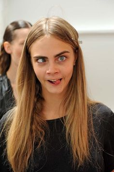 Cara Delevingne- love her as a person on the in and out, like who doesn't!?