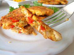 Placuszki z piersi kurczaka (Frittelle di petto di pollo) | La grande e la piccola cuoca