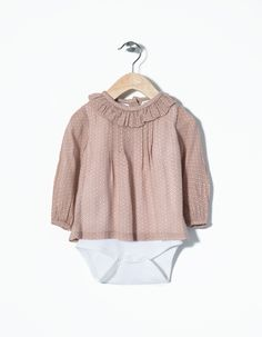Body Camisa Zippy