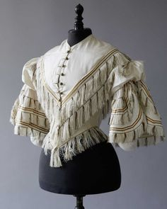 Bodice, 1850′s From Daguerre Auctions