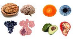 """Хипократ е казал: """"Нека храната бъде твоето лекарство и твоето лекарство бъде храната"""". Ще ви покажем 10 храни, чиито форми наподобяват онези човешки..."""