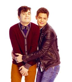 "Oh my God, and his bromance with Jeremy Jordan. I can't even look at this it's so adorable. | Andy Mientus Is Your New ""Smash"" Crush"