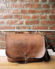 Leather Shoulder Bag Messenger Bag