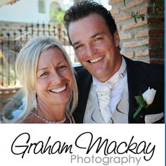 Johhny G Wedding singer and the lovely Sandra at their wedding in Mijas, Southern Spain on Sat 31st Aug 2013
