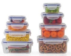 Camp Cooking Tips And Tricks - Use the right camp cooking tools like this Popit Little Big Box Food Container Set. Camping Cooking Tips: Mix and measure your dry ingredients at home so you only carry what you need to the campsite and you'll avoid the chor Plastic Containers, Food Storage Containers, Plastic Storage, Camping Meals, Freezer Meals, Camping Cooking, Storage Sets, Container Design, Shopping