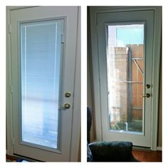 Looking To Add Privacy To Your Patio Door? No Problem! With ODLu0027s Blinds  Between