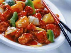 Ayam Goreng Tepung Saus Asam Manis | Resepkoki.co
