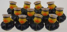 Lot 12 Us Military Marines Rubber Ducks Duckie Party Favors Cake Topper Dozen