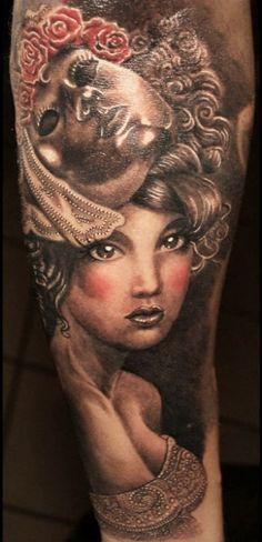Tattoo Artist - Anabi Tattoo - Face tattoo