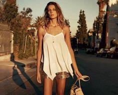 Catálogo H&M primavera verano 2015 con Daria Werbowy | demujer moda