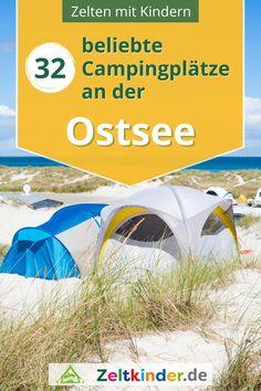 Hier findest du die 32 schönsten Zeltplätze und Ausflugsziele für das Zelten an der Ostsee – von Zeltkindern empfohlen! Entdecke Zeltplätze in Schleswig Holstein und Mecklenburg Vorpommern, auf Usedom, Fehmarn, Rügen sowie im Ausland in Dänemark, Polen und Litauen. Camping Europa | Camping Deutschland | Campingplätze Deutschland | Camping am Meer | Zelten mit Kindern #zeltkinder Europa Camping, Camping Am Meer, Camping In Deutschland, Outdoor Gear, Tent, Store, Tents