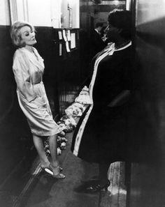 Marlene Dietrich - Backstage in Edinburgh, 1965.
