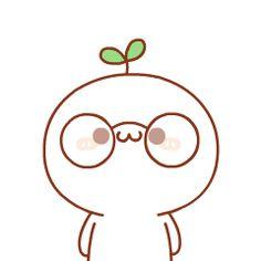 Me encanta lo lindo que te quedan tus anteojos :3 Cute Cartoon Drawings, Cartoon Gifs, Kawaii Drawings, Cute Memes, Funny Cute, Kawaii Illustration, Cute Love Gif, Dibujos Cute, Cute Doodles