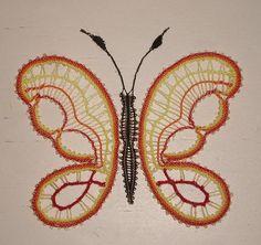 dentelle papillon