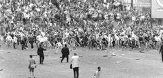 Unfortunately Football hooliganism plays a large part in the history of Leeds United, particularly in the 80's when the team were poor on the field and the fans frustrated off it. The final game of the 1984/5 season was Birmingham City v Leeds with the home team promoted and United technically able to go up should they win and results go their way. Leeds lost but the match was tarnished when Leeds fans rioted and a young fan was killed when a wall crushed him. Dark days for Football and…