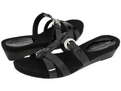 Anne Klein Anne Klein  Landres Patent Womens Sandals for 62.74 at Im in! #sale #fashion #I'mIn