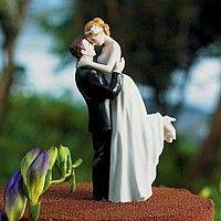 Love this : ) 'True Romance' Wedding Cake Topper Figurine