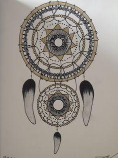 Dream Catcher, Mandala, Inspired, Tattoos, Drawings, Inspiration, Biblical Inspiration, Dreamcatchers, Tatuajes