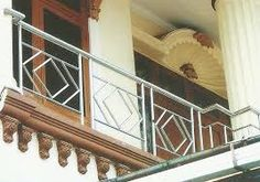 Image result for balcony railing stainless steel Porch Railings, Balcony Railing, Balcon Grill, Living Room Modern, Living Rooms, Steel Stairs, Stainless Steel Grill, Iron Gates, Tile Design