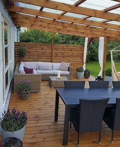 Outdoor Pergola, Outdoor Rooms, Outdoor Living, Pergola Plans, Backyard Patio Designs, Small Backyard Landscaping, Backyard Privacy, Garden Sitting Areas, Covered Patio Design