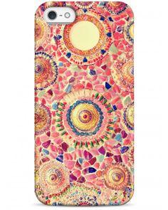 Цветная мозайка из камней - iPhone 5 / 5S / 5C Дизайнерские чехлы для iPhone #чехлы для iPhone #Sahar cases
